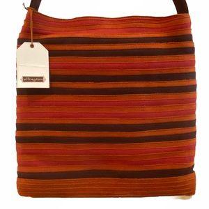 Ellington Rich Fall Colors Suede Crossbody Bag